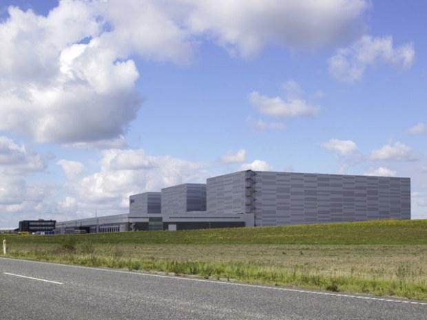 Jysk Centrallager Logistik på hojt niveau Byggeri Byggeplads dk