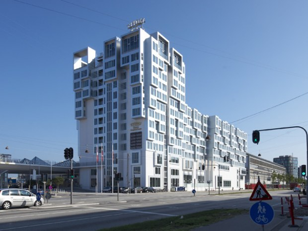 Tivoli Hotel Klippeformationer Ved Kalvebod Brygge Byggeri