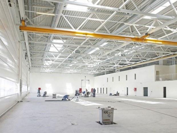 Bel air aviation : kolibrien er landet : byggeri : byggeplads.dk
