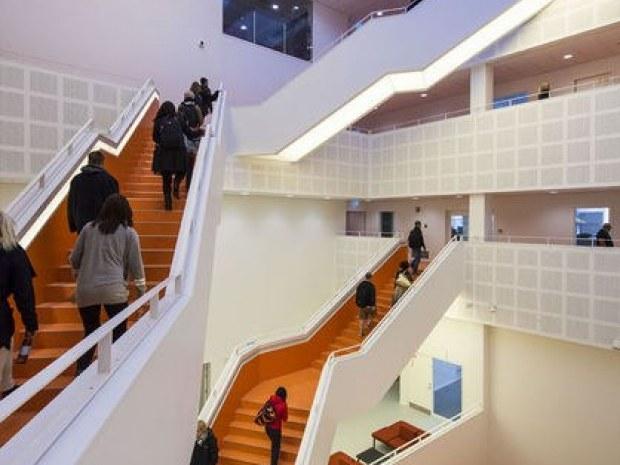 VUC nordjylland-atrium