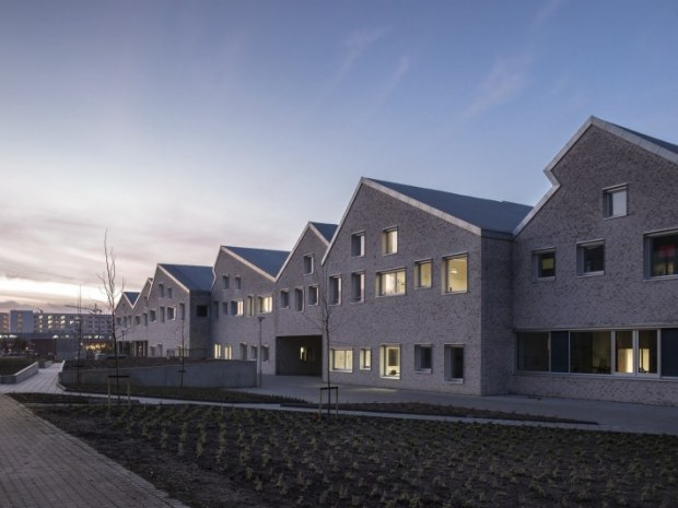 Aarhus Social- og Sundhedsskole - Facade