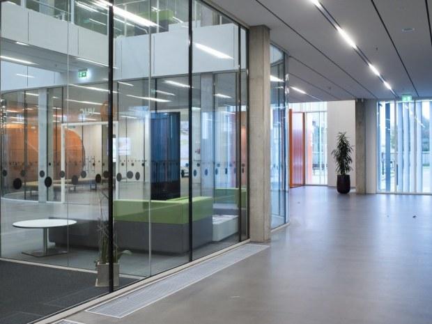 Campus Tønder - Glaselementer