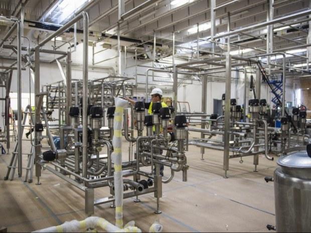 Danmark Protein - Procesanlæg