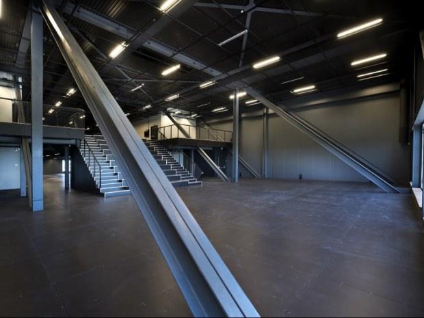 Danmarks Rockmuseum - Indvendigt