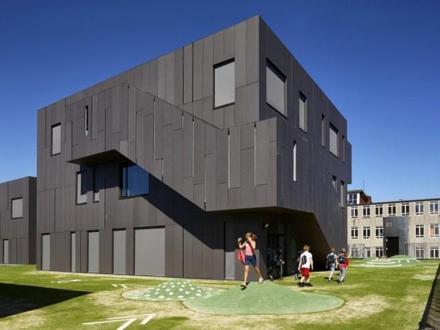 Kirkebjerg Skole - Facade