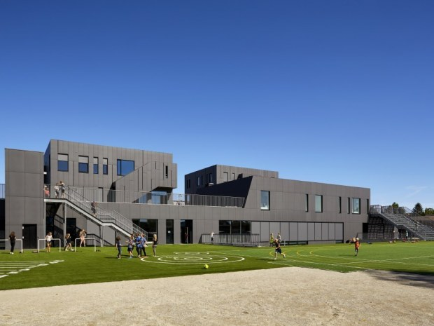 Kirkebjerg Skole - ny bygning