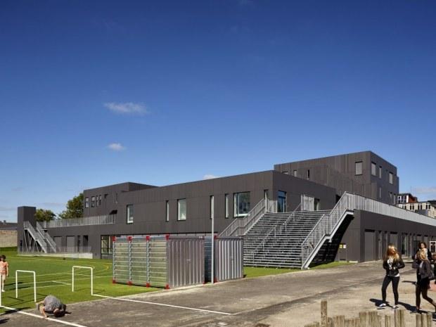 Kirkebjerg Skole - udearealer