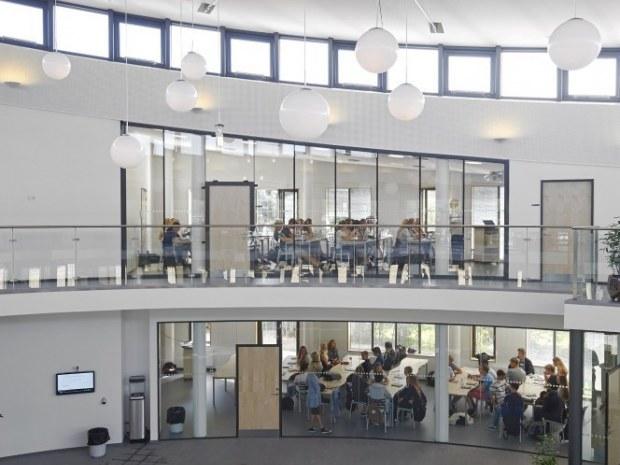Multihus - Nærum Gymnasium - Indvendigt