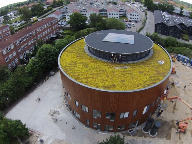 Multihus - Nærum Gymnasium - Tag
