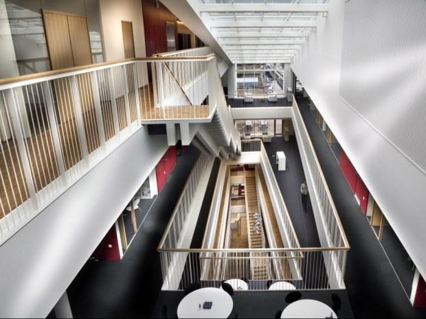 Rigshospitalet Patienthotel og Administration - Atrium
