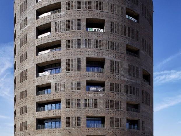 Trafiktårnet Øst - Facade