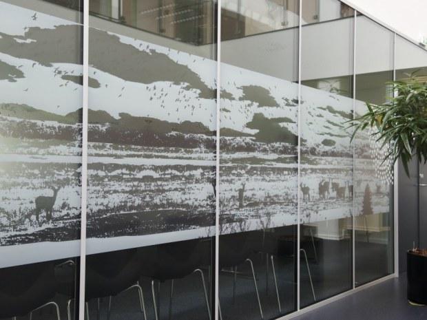 Varde Rådhus - Glasvægge