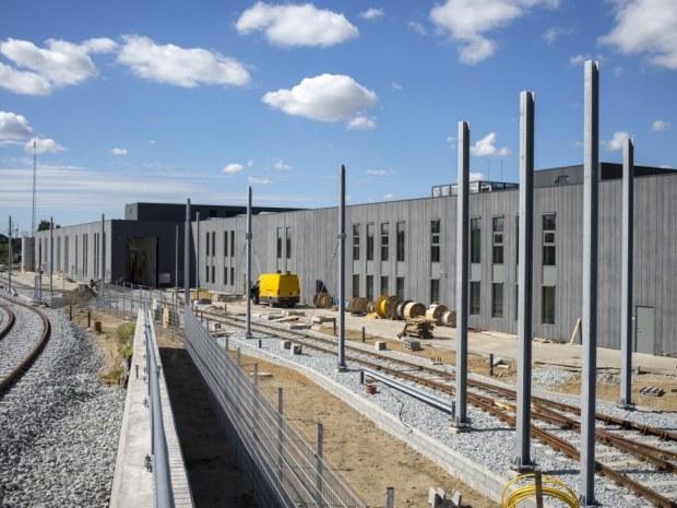 Aarhus Letbanes Trafik- og Servicecenter - Sporområdet