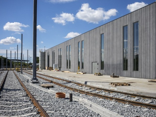 Aarhus Letbanes Trafik- og Servicecenter - Elementerne