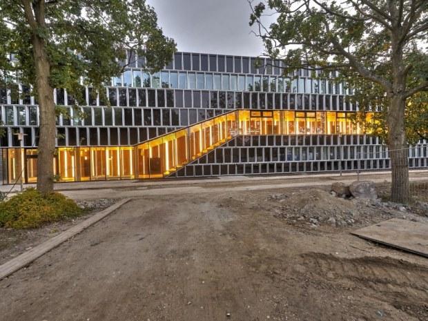 DTU Fotonik, bygning 340 - Byggeriet