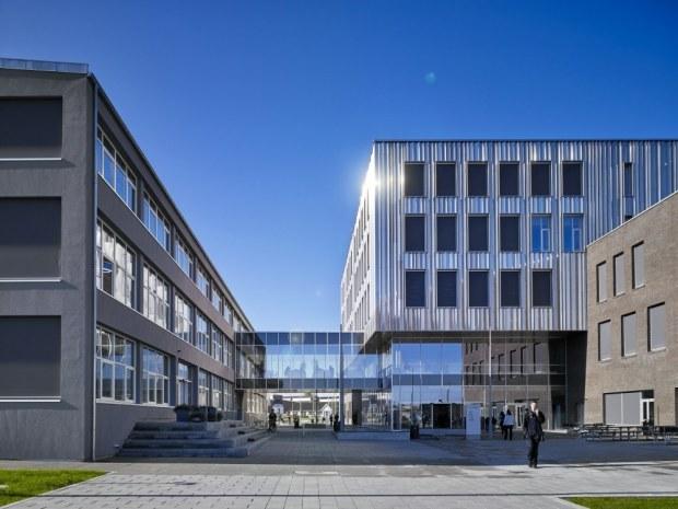 Erhvervsakademiet Lillebælt - Arkitekturen