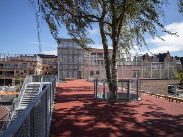Frederiksbjerg Skole - Bjergtorvet
