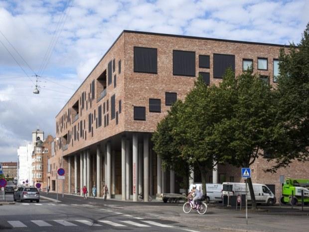 Frederiksbjerg Skole - Indgangen