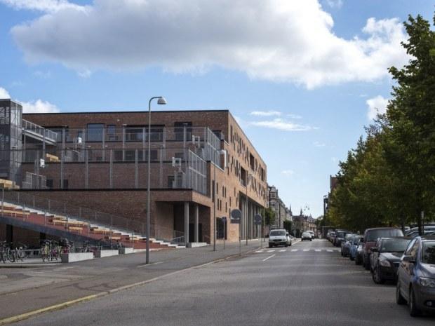 Frederiksbjerg Skole - Terrassering