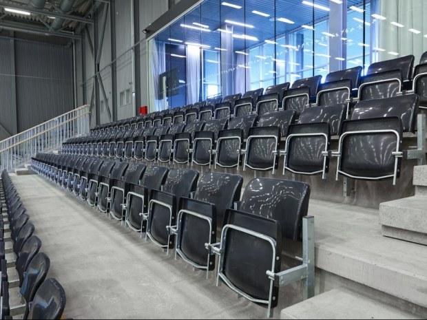 Gentofte Sportspark - Tribune inde og ude