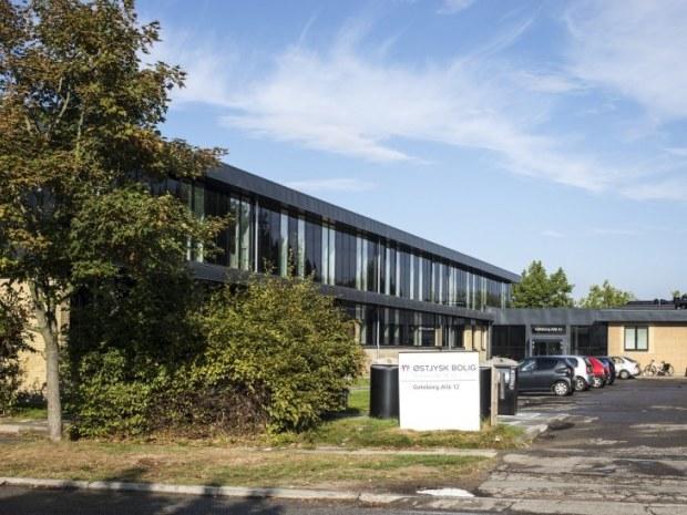 Gøteborg Allé - Bygningshøjden