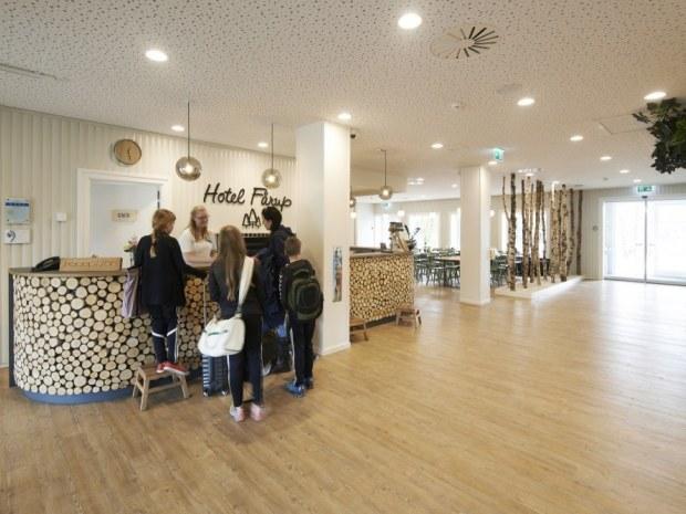 Hotel Fårup - Receptionen