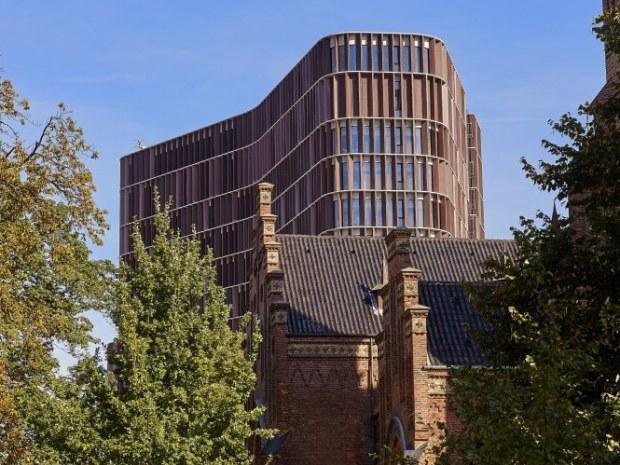 Tårnet set fra byen