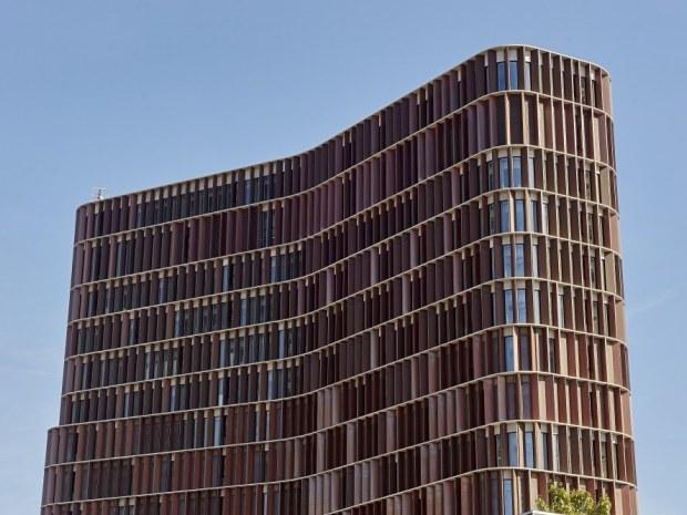 Mærsk Bygningen, Det Nye Panum - Facadeteknologien