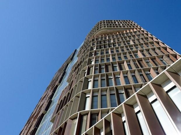 Mærsk Bygningen, Det Nye Panum - Geometrierne