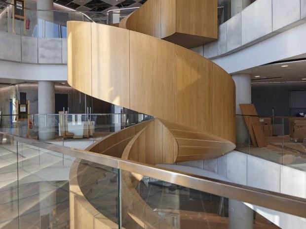 Mærsk Bygningen, Det Nye Panum - Spindeltrappen