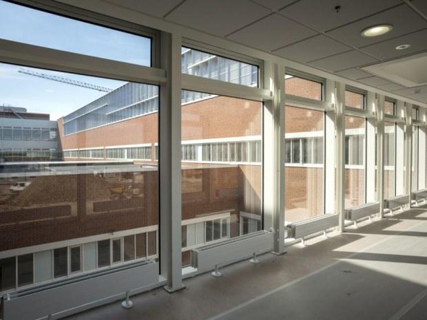 Det Nye Universitetshospital (DNU), N3 - Den centrale gang