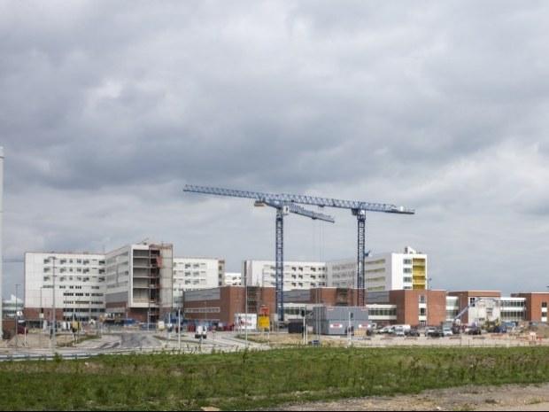 Det Nye Universitetshospital (DNU), S2 - Bygningerne