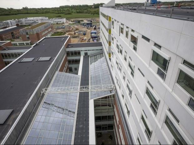 Det Nye Universitetshospital (DNU), S2 - Gårdhaver og ovenlys