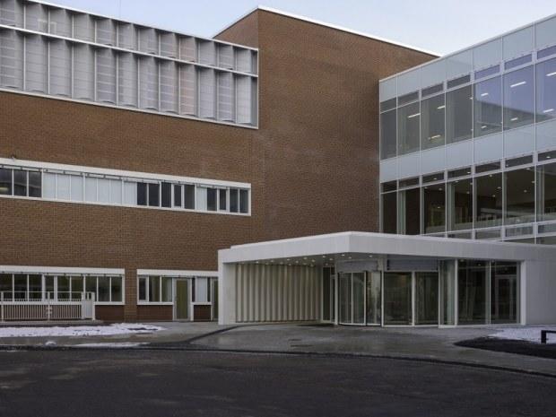 Det Nye Universitetshospital (DNU) - Hovedindgangen