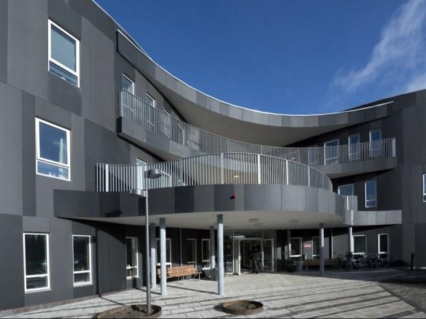 Plejecenter Samsøvej - Hovedindgang