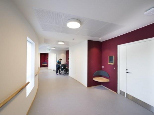 Plejecenter Samsøvej - Etagefarver