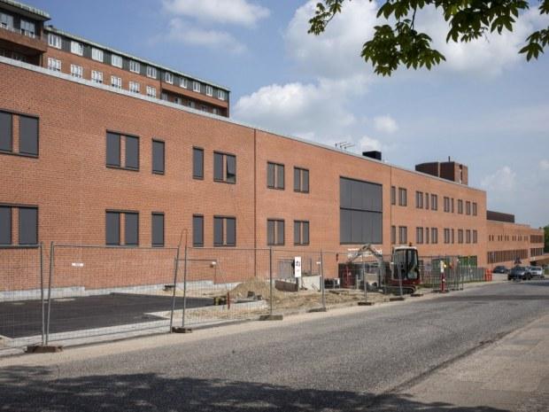 Regionshospitalet Randers - Tilbygningen