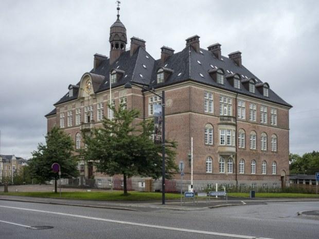 Retten i Aarhus - Facaden