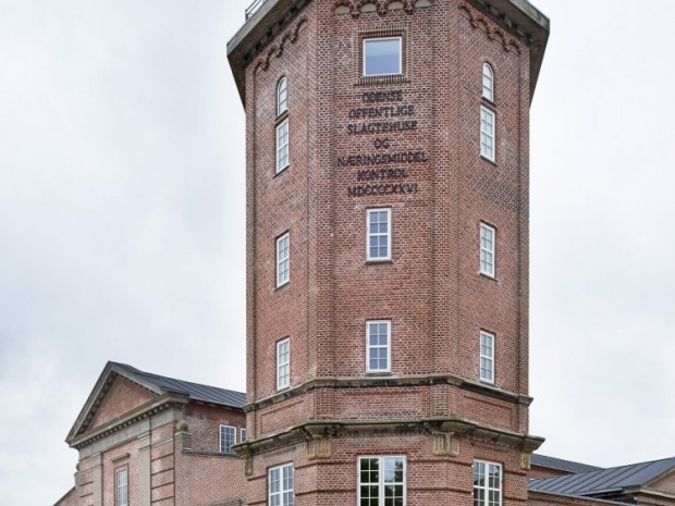 Slagtehusene, 1. etape - Tårnet