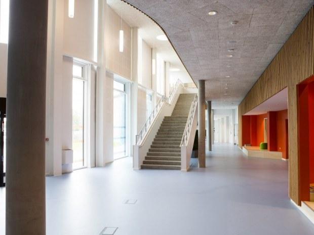 Aabenraa Multiarena - betontrappe