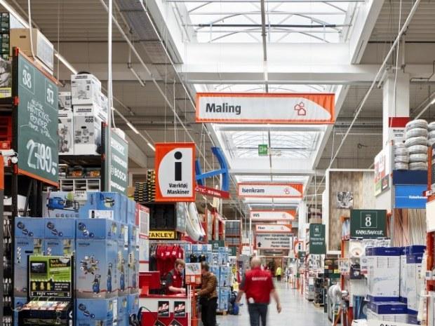 Bauhaus, Valby - højt til loftet