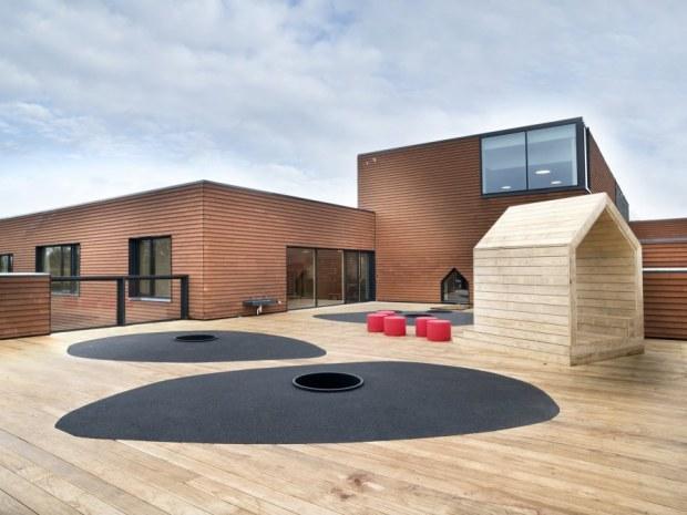 Børnehuset Himmel og Hav - taglegeplads