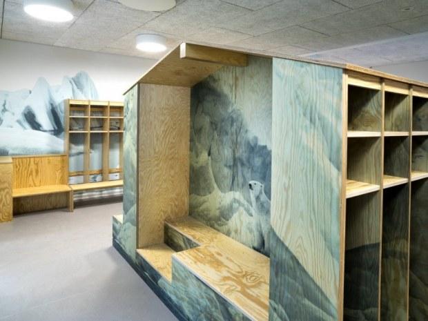 Børnehuset Himmel og Hav - garderobe