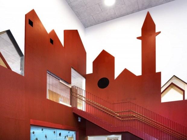 Børnehuset Himmel og Hav - vægdekoration