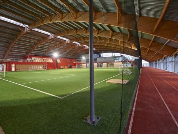 Club Danmark Hallen - Tagkonstruktionen