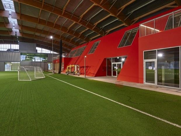 Club Danmark Hallen - Klubhuset