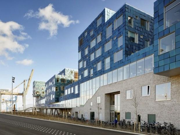 Copenhagen International School - Nordfacaden