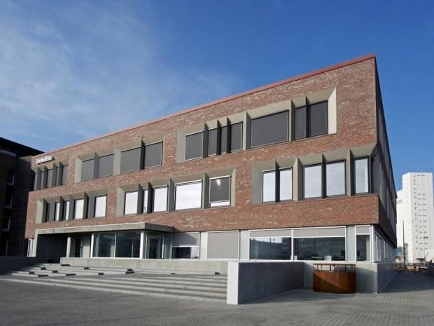 Deloitte-domicil, Esbjerg - Byggeriet