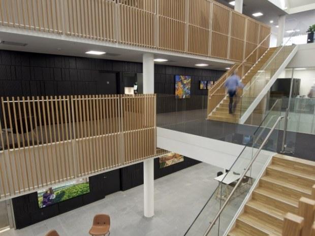 Deloitte-domicil, Esbjerg - Foyeren