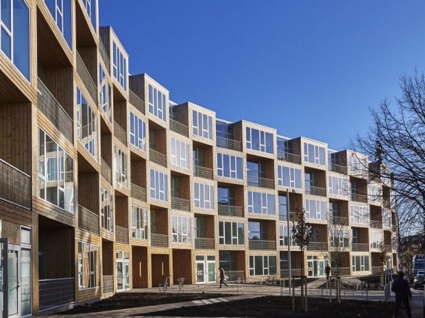 Dortheavej - facade